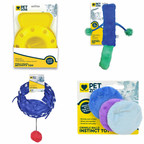 Pet Zone is adding four new products to its line of cat toys. The new toys include the Pet Zone Romp-A-Round Floor Toy, Pet Zone KittyKicker, Pet Zone Pounce House Cat Tunnel, and Pet Zone Catnip Crinkle Disks.
