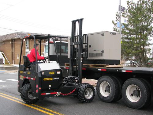 Seaside Park, New Jersey, Reenergized by KOHLER Backup Generator Donation. (PRNewsFoto/Kohler Generators) ...