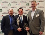 Victory Media named Combined Insurance the number one Military Spouse Friendly Employer in the country in both the Overall and Insurance categories at a ceremony on May 4, 2016. Pictured from left to right: Rich McCormack, President and Co-Founder of Victory Media; Joseph Pennington, National Military Programs Manager, Combined Insurance; and Chris Hale, Chairman and Co-Founder of Victory Media.