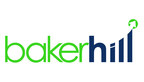 New logo for Baker Hill, a technology company offering loan origination, portfolio risk management, business intelligence and profitability analytics for financial institutions