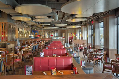 TGI Fridays re-opens in Brooklyn community after Hurricane Sandy revealing fresh new look. (PRNewsFoto/TGI Fridays)