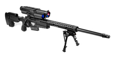 TrackingPoint Model XS1- 1000 Yards Made Easy.  (PRNewsFoto/TrackingPoint)