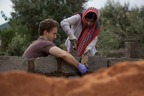 Malala Yousafzai makes first trip to Africa. Yousafzai works alongside Craig Kielburger, co-founder of international charity Free The Children, to help build Free The Children's Oleleshwa All-Girls' Secondary School, in rural South Narok, Kenya, where the majority of girls do not attend high school. (PRNewsFoto/Free The Children)