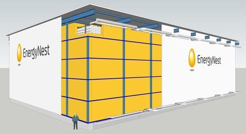 EnergyNest Thermal Energy Storage (TES) (PRNewsFoto/EnergyNest)