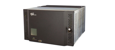 Alpha introduces its new CXDS-M Micro and CXDS-M Mini Distribution Systems are compact, front access, power distribution systems that provide a variety of multiple, high capacity protection options for powering telecommunications and IT equipment.    Each modular panel can be configured with either a 1200 Amp single input or 600/600 Amp dual inputs.  In 6RU of rack space, the Micro BDFB provides up to 24 positions.  In 12RU, the Mini BDFB provides up to 48 positions.  (PRNewsFoto/Alpha Technologies Ltd.)