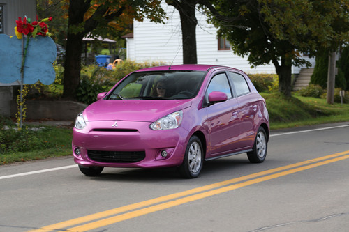 """All-new 2014 Mitsubishi Mirage awarded """"Best Sub-Compact Car 2014"""" in the Hispanic Motor Press Awards.   ..."""