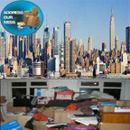 Clutter and hoarding cleanup in New York due to stress (PRNewsFoto/Address Our Mess)