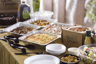 Olive Garden Announces Delivery Catering Services | US Daily Review