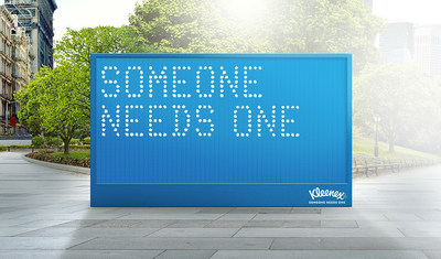Kleenex Brand: There Whenever, Wherever Someone Needs One Brand Demonstrates How Sharing a Kleenex Facial Tissue Can Connect and Uplift Us All