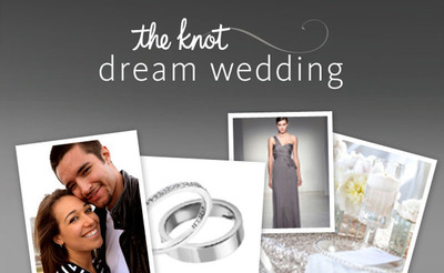 www.theknot.com/dreamwedding.  (PRNewsFoto/TheKnot.com)