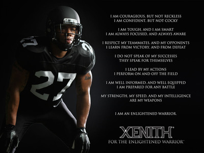 The Xenith Enlightened Warrior Creed
