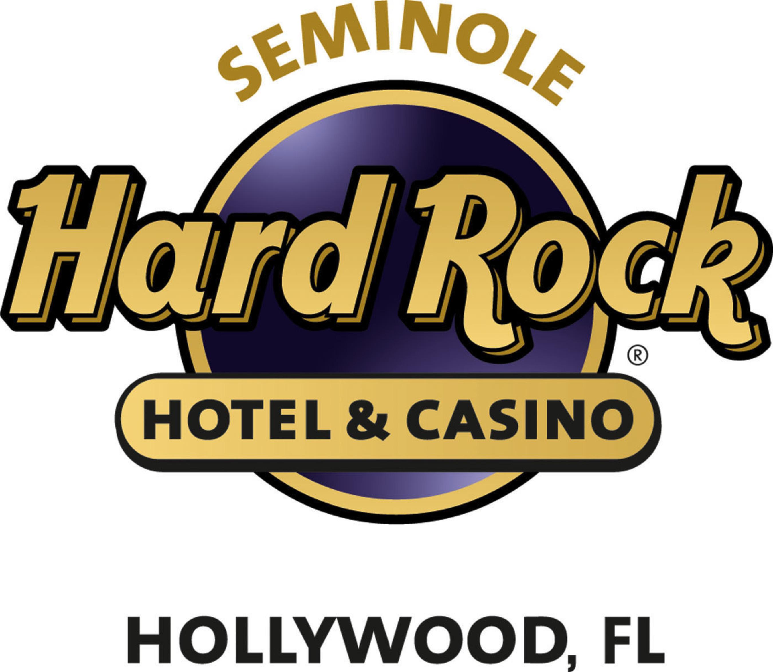 Seminole Hard Rock Hotel & Casino Hollywood logo.