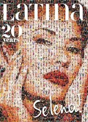 Latina Magazine celebrates its platinum anniversary with a photomosaic of the legendary Selena Quintanilla