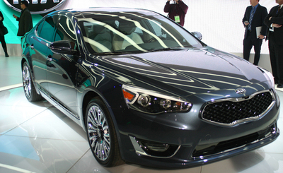 The 2014 Kia Cadenza is making waves since its recent arrival at Bill Jacobs Kia.  (PRNewsFoto/Bill Jacobs Automotive Group)