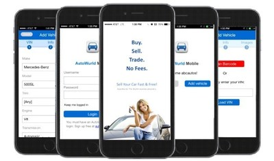AutoWurld Mobile for iOS and Android Helps Consumers and Dealers List Used Cars in 60 Seconds or Less