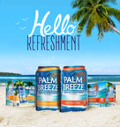 "New Palm Breeze makes any day feel like a tropical getaway, turning any get-together into a ""vacay every day."""