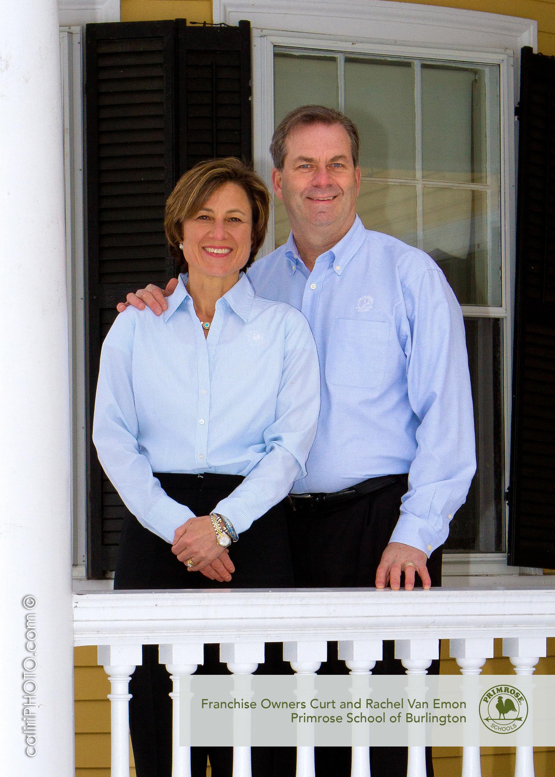 Curt and Rachel Van Emon opened Primrose School of Burlington, the first Primrose school in Massachusetts. Curt will be speaking alongside VP of Franchising Chris Goethe at the International Franchise Expo.