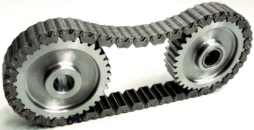 Featuring new optimized tooth geometry, BorgWarner's next-generation HY-VO(R) chain reduces friction and ...