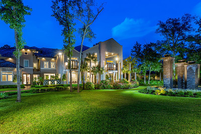 This suburban mansion just north of Houston, Texas is scheduled for sale at a live auction on July 30, 2016. The home was completely renovated in 2014, and offers unique features such as outdoor living areas inspired by the Wynn Resorts, and a three-story, 3,300-sf closet complete with its own champagne bar and vanity station. Though previously asking $12.9 million, the mansion will now be sold to the highest bidder who meets or exceeds a bid of $5 million. The property owners retained Miami-based auction firm Platinum Luxury Auctions to manage the sale. Details at WoodlandsLuxuryAuction.com.