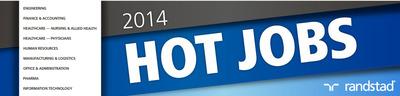 Randstad Reveals 2014 Hot Jobs List