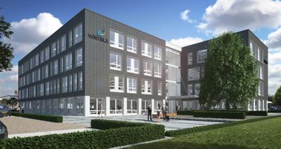 W. P. Carey's managed REIT finances the construction of global industrial company Wartsila's new Netherlands R&D and training facility. The $18.7 million (EUR 13.6 million) transaction will include 100% funding for the construction of a new two-building facility, which will be the new global R&D center for Wartsila's Ship Power division and their new Land & Sea Academy for the Netherlands. (PRNewsFoto/W. P. Carey Inc.) (PRNewsFoto/W_ P_ CAREY INC_)