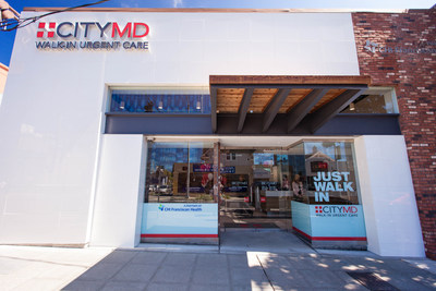 Exterior photo of CityMD Ravenna (Photo Credit: Chris Harth)
