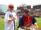 Kretschmar and Shop 'n Save made Zac's wish to throw out the first pitch of a St. Louis Cardinals game come true (PRNewsFoto/Kretschmar Deli)
