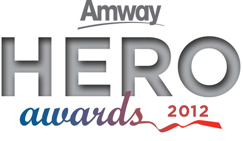 Amway Hero Award recipients honored for leadership, generosity, patriotism, and determination.  (PRNewsFoto/Amway)