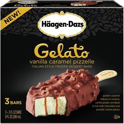 Haagen-Dazs Introduces New Gelato Bars (PRNewsFoto/The Haagen-Dazs Brand)