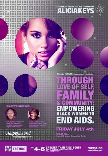 ESSENCE Empowerment Experience with Alicia Keys (PRNewsFoto/Kaiser Family Foundation) (PRNewsFoto/Kaiser Family  ...