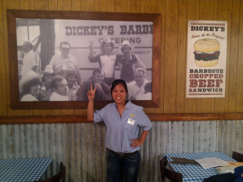 Dickey's Barbecue Pit opens new location in Boca Raton, FL.  (PRNewsFoto/Dickey's Barbecue)