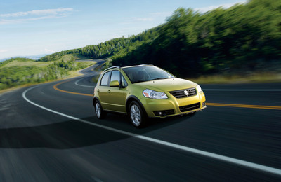 2013 Suzuki SX4 - America's most affordable All-Wheel Drive.  (PRNewsFoto/American Suzuki Motor Corporation)