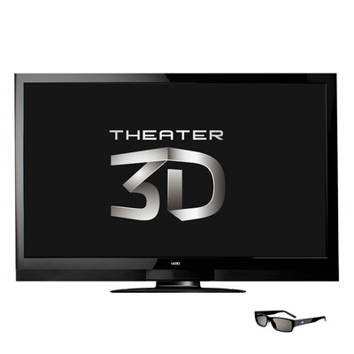 "VIZIO Unveils 65"" Theater 3D(TM) Razor LED(TM) HDTV with Superior 3D Performance and Battery-Free, Comfortable Eyewear.  (PRNewsFoto/VIZIO, Inc.)"