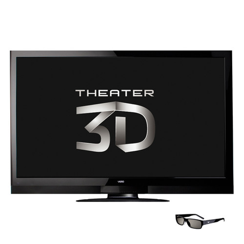 "VIZIO Unveils 65"" Theater 3D(TM) Razor LED(TM) HDTV with Superior 3D Performance and Battery-Free, Comfortable Eyewear.  (PRNewsFoto/VIZIO, Inc.)"