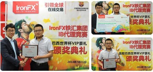 Rewarding partners for their ongoing loyalty to IronFX, the company also awarded the winner of the IronFX IB competition, Mr Liu Yang from China with the VIP Package to Brazil. (PRNewsFoto/IronFX Global Limited)