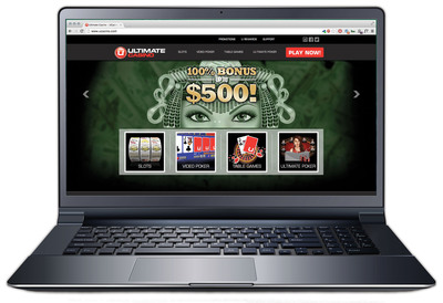 Real-Money Online Casino Gaming Now Live in New Jersey at www.UCasino.com.  (PRNewsFoto/Ultimate Gaming)