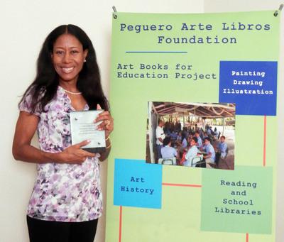 Dominican Republic Painter Olivia Peguero and The Peguero Arte Libros Foundation 2012.  (PRNewsFoto/Olivia Peguero Art)