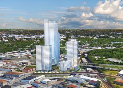 Smithfield Nashville LLC's proposed mixed-use real estate development in Nashville, Tenn.
