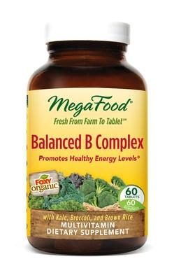 MegaFood Balanced B Complex with Foxy Organic Kale