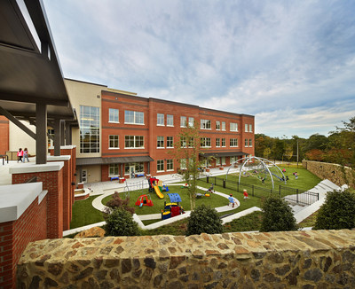 Northside Elementary School becomes the first LEED Platinum elementary school in North Carolina. (PRNewsFoto/Moseley Architects)