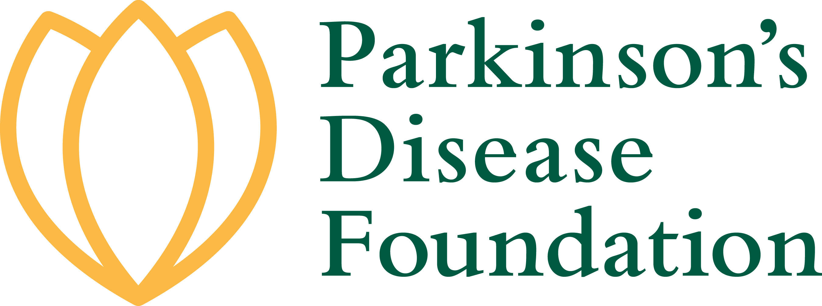 Parkinson's Disease Foundation logo. (PRNewsFoto/Parkinson's Disease Foundation)