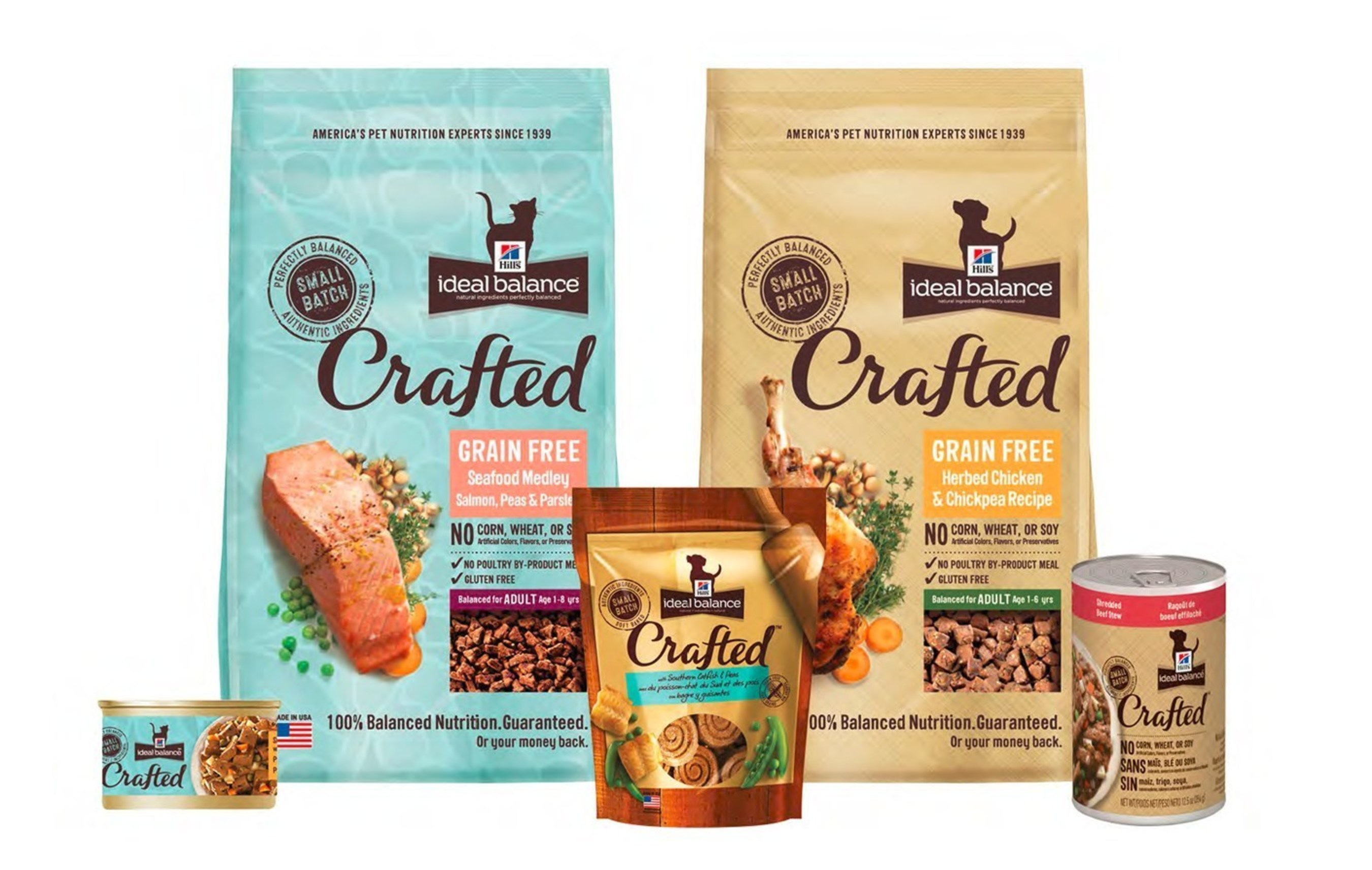 Hill's Pet Nutrition introduces Ideal Balance Crafted