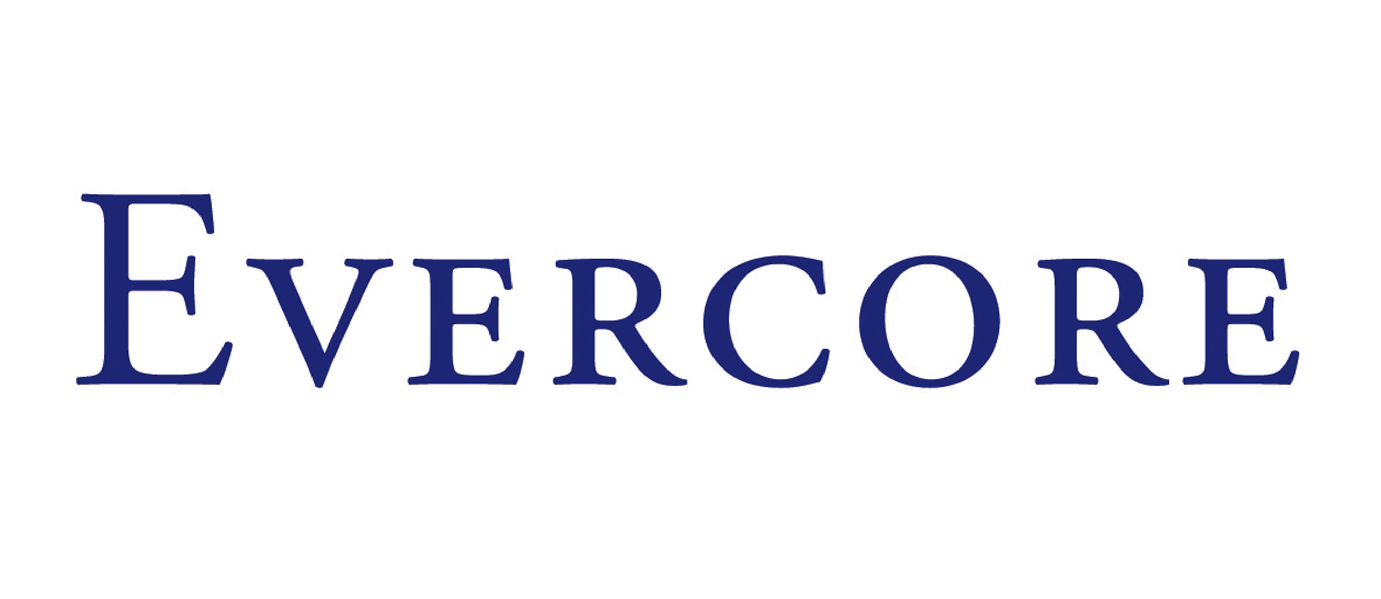 Evercore (PRNewsFoto/Evercore Wealth Management LLC) (PRNewsFoto/Evercore)
