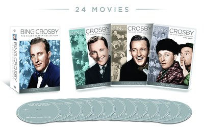From Universal Studios Home Entertainment: Bing Crosby: The Silver Screen Collection (PRNewsFoto/Universal Studios Home) (PRNewsFoto/Universal Studios Home)