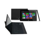 """Quantum View Windows Tablet: High quality 10.1"""" Windows tablet equipped with a free keyboard/case, Microsoft Office 365, and a one year manufacturer warranty."""