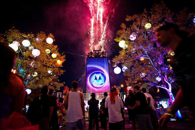 Live Nation And Motorola Extend Relationship, Launch The Discovery Project Competitions For Art Installation, Costume And Stage Design. (PRNewsFoto/Live Nation)