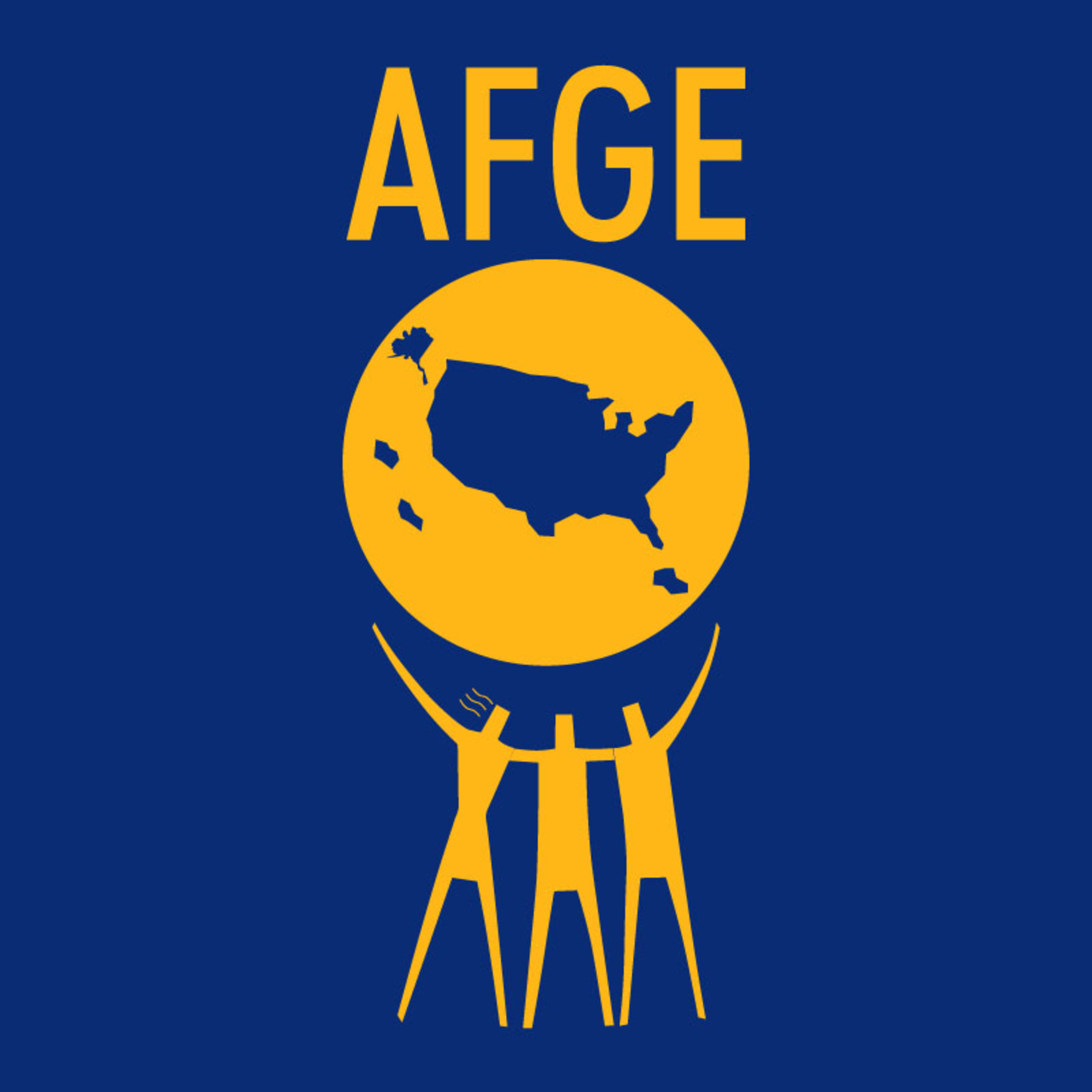 AFGE logo.