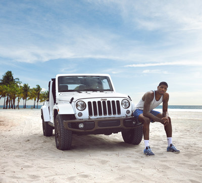 Jeep(R) brand's 3rd annual Summer of Jeep with Paul George, USA Basketball and Sony/ATV Music Publishing songwriter and artist Morgan Dorr