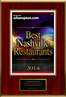 "Monell's Restaurant Selected For ""Best Nashville Restaurants"""
