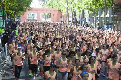 BIOTHERM x NIKE WOMEN'S RACE PARIS (PRNewsFoto/Biotherm)